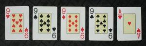 Poker hands rank